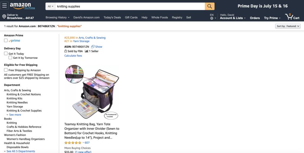 用于亚马逊排名的两步式页面URL [案例研究]