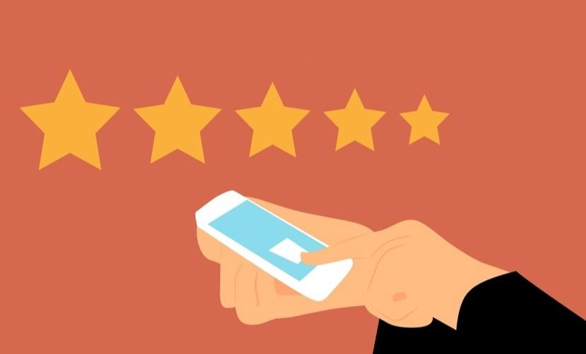 亚马逊认证的购买评论,好评论和差评
