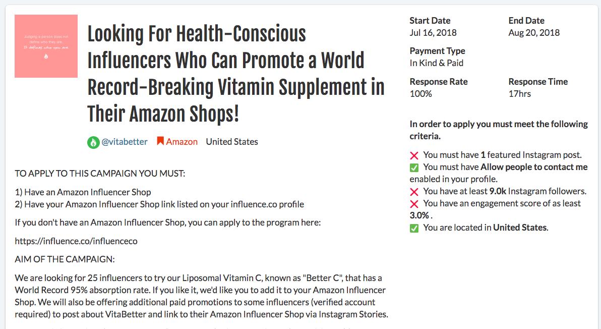 如何大规模使用红人营销计划来扩大亚马逊的品牌影响力和销售量