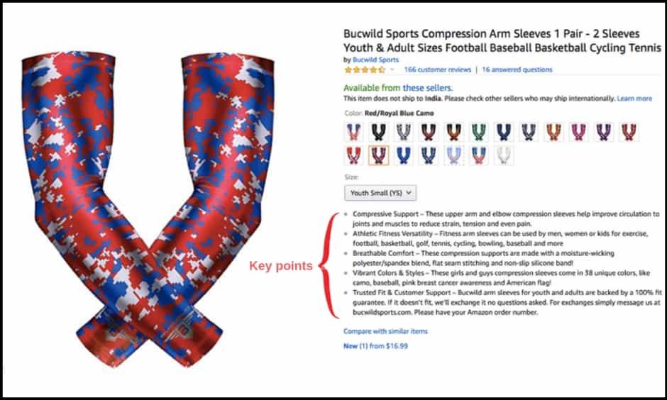 如何编写强销售的Amazon Bullet points ?