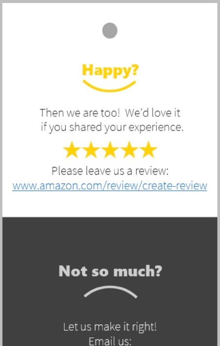如何使用亚马逊产品插入卡片进行评论