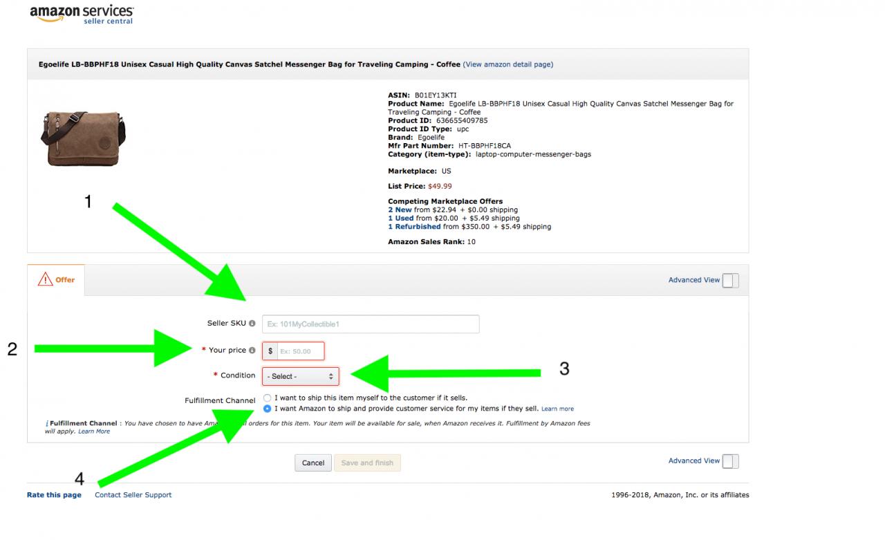 如何在亚马逊上销售–面向初学者的循序渐进指南