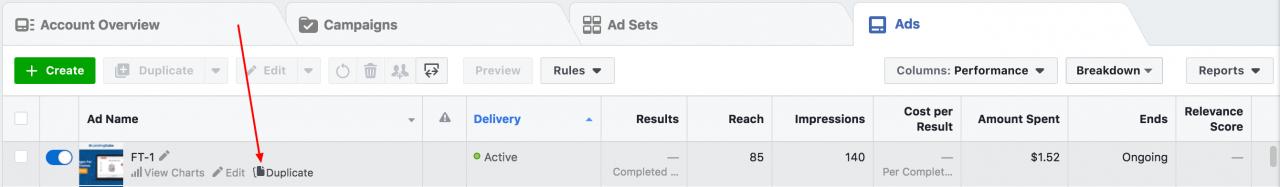 为亚马逊卖家拆分测试Facebook广告创意