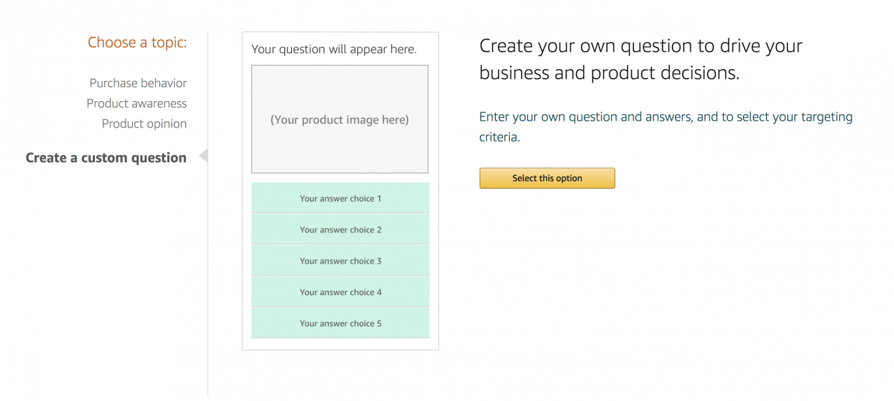 从亚马逊客户那里获得见解的4种方法