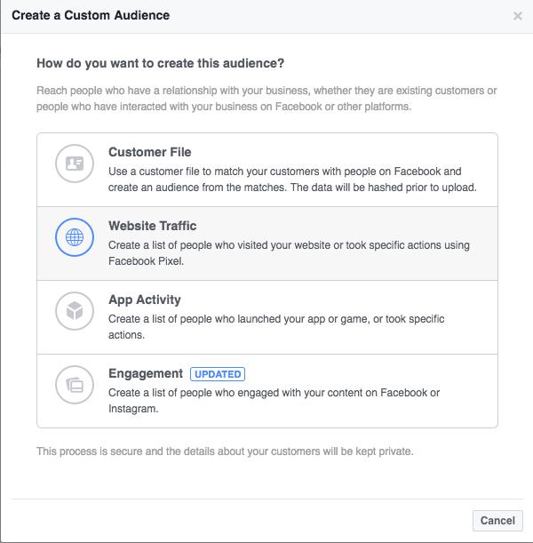 第六章 针对Amazon产品的Facebook重定向